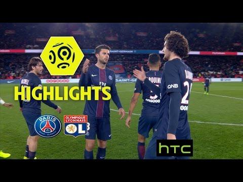 Paris Saint-Germain - Olympique Lyonnais (2-1) - Highlights - (PARIS - OL) / 2016-17