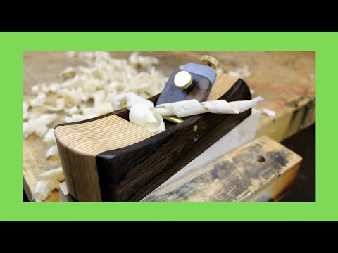 Make Your Own Hand Plane (Fast &  Easy)