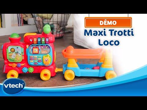 Maxi Trotti Loco 5 En 1 - En Avant Pour L'aventure ! | VTech