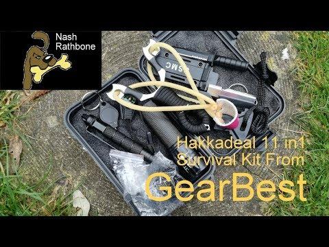 HakkaDeal 11 in 1 Survival Kit From GearBest