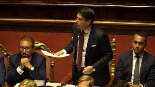 """Senato, l'ultimo affondo di Conte a Salvini: """"Non ha coraggio di assumersi responsabilità"""""""