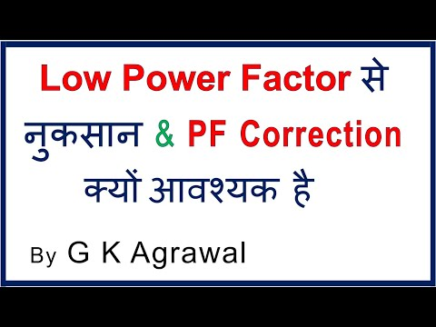 Why is Power Factor correction required? in Hindi thumbnail