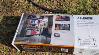 Review of the Gladiator 4-Shelf Welded Steel Garage Shelving Unit