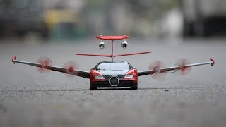 make helicopter car
