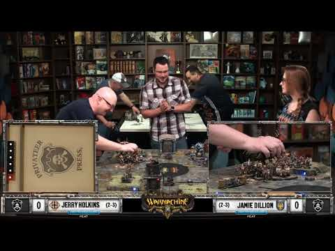 The Pit: Colossal (75 pts)   Penny Arcade Presents: Warmachine   Episode 06