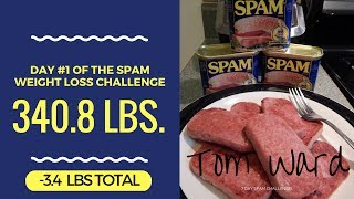 SPAM Challenge - Day #1 - Down -3.4 lbs in just 24 Hours!