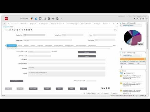 Infor Sunsystems 6 Youtube