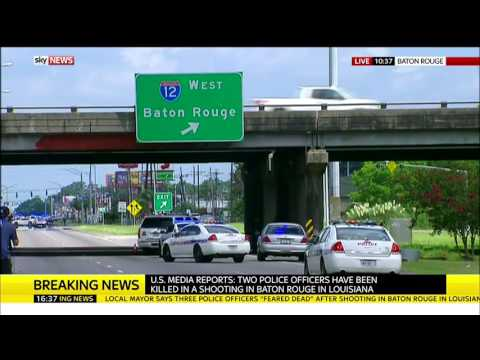 Baton Rouge Shooting: Local Journalist Says Shooter Is Still Active