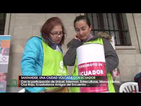 Santander se vuelca con Ecuador