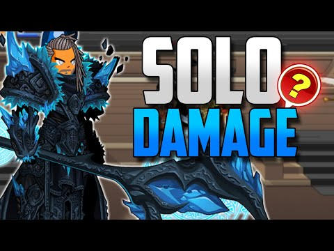 AQW NorthLands Monk Class Solo Damage!