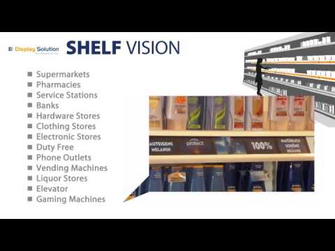 Digital Signage Shelf Vision Multi Lcd Lines For Pos