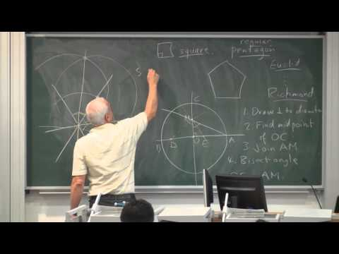 Greek geometry (a) | Math History | NJ Wildberger