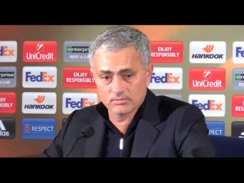 Mourinho Blames Players For Defeat- Fenerbahce Vs Manchester United 2-1 Europa League 2016