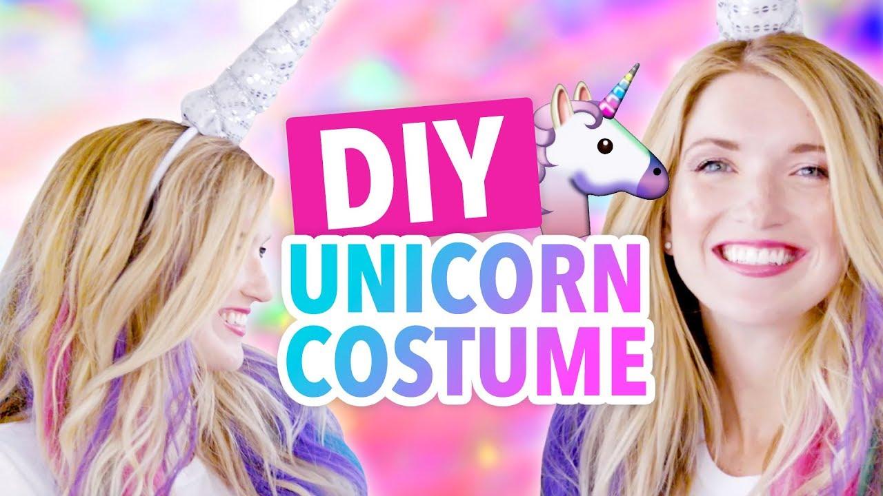 Diy Unicorn Horn Halloween Costume Hgtv Handmade