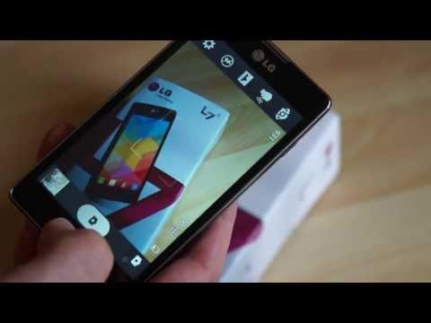 LG P710 Optimus L7 II im Test (1): Unboxing und erste Eindrücke