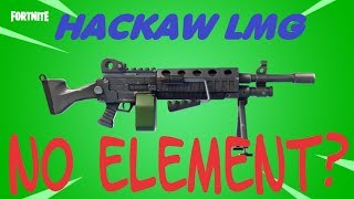 Hacksaw LMG - Fortnite Save the World