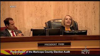 Maricopa County election audit results released