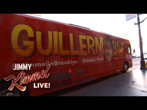 Guillermo is Going on a Road Trip! #KimmelinBrooklyn