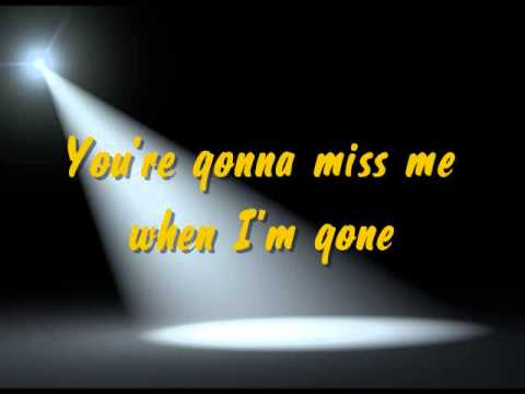Pitch Perfect - When I'm Gone Cups Song (karaoke + lyrics )