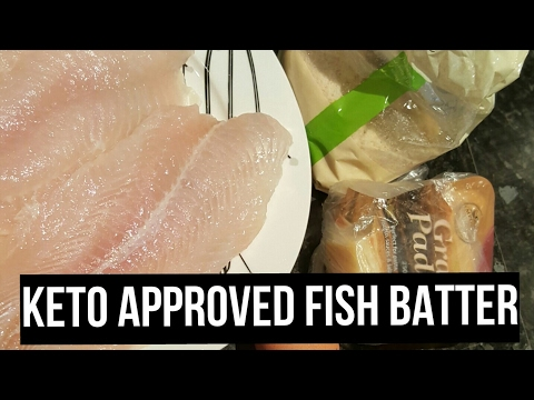 Ketogenic diet- batter - Battered Fish the keto way. Lauras keto way of life - NEW RECEIPE