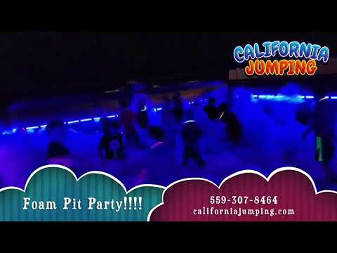 California Jumping Of Fresno - Foam Pit Party