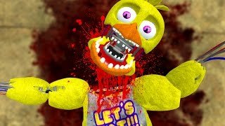 death of withered chica gmod fnaf sandbox funny moments garry s mod