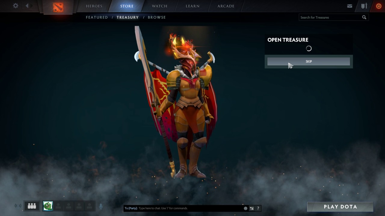 Dota 2 S Immortal Treasure 3 Launches: Immortal Treasure 3 Opening With Ultra Rare
