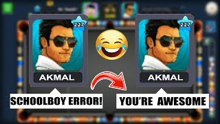 I DID JUST ONE THING IN 8 BALL POOL WHICH CHANGED HIS ENTIRE ATTITUDE...(destroyed)