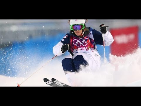Hannah Kearney Takes Moguls Bronze