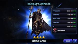Ranking up General Corvus Glaive!