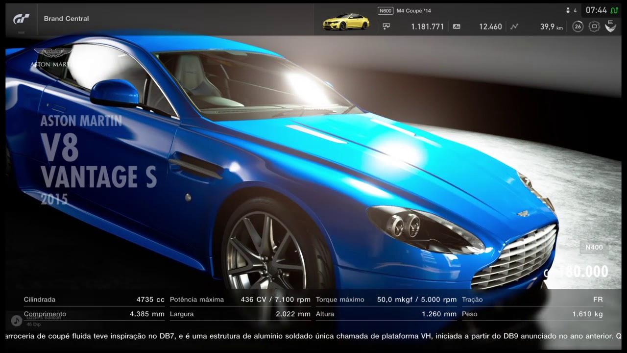 Gran Turismo Sport Aston Martin V8 Vantage S 2015 Youtube