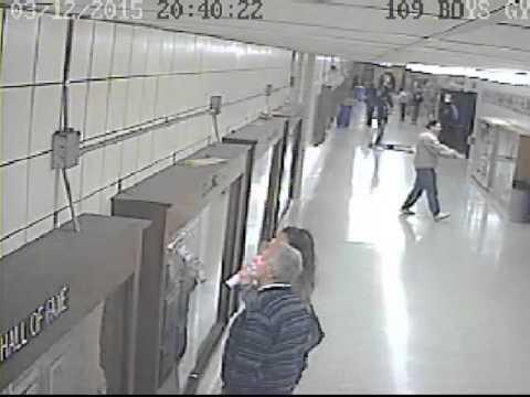 Euclid High School surveillance video