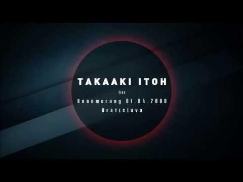Takaaki Itoh - live @ Booomerang 01.04.2000, Bratislava