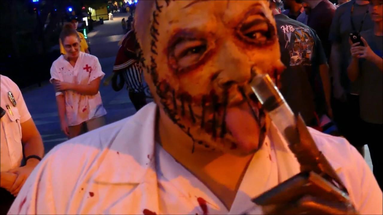 worlds of fun halloween haunt overlords awakening 2017 - youtube