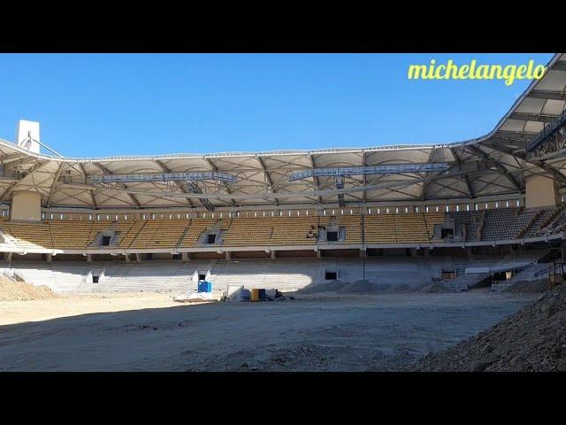 Αγιά Σοφιά: Μπαίνει χρώμα και κιτρινίζει το γήπεδο! (video)