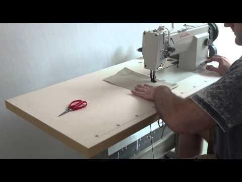 HIGHTEX, Cowboy  7618 Compound Needle Feed, Walking Foot (Unison Feed) Lockstitch Sewing Machine