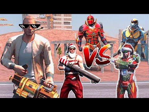 Gangstar Vegas - Jason / Santa Claus / Osteo X Light / Red Dragon Armor / Binary Blastcast