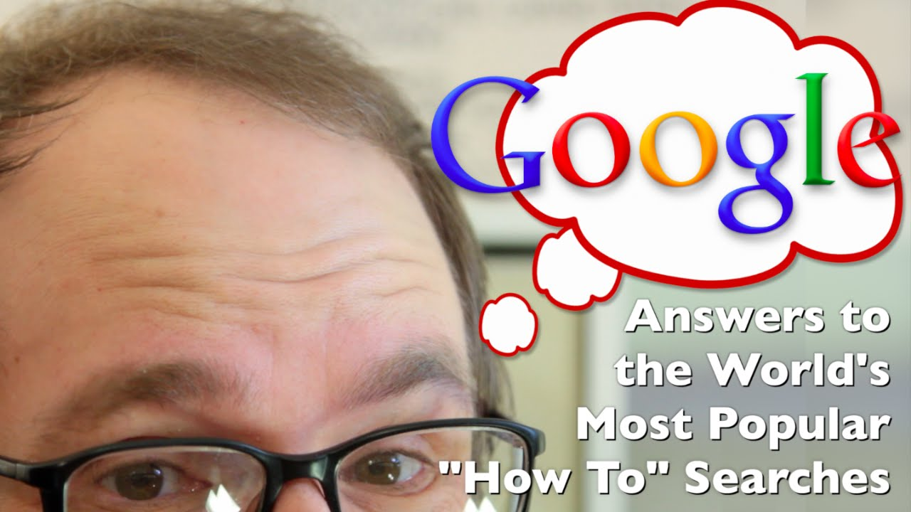 """How to Tie a Tie, Kiss, Flirt, & More! (Top 10 Google """"How To""""s Explained)!"""