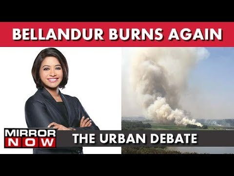 Bengaluru's Toxic Lake Burns Again | The Urban Debate With Faye D'Souza(19th January 2018)
