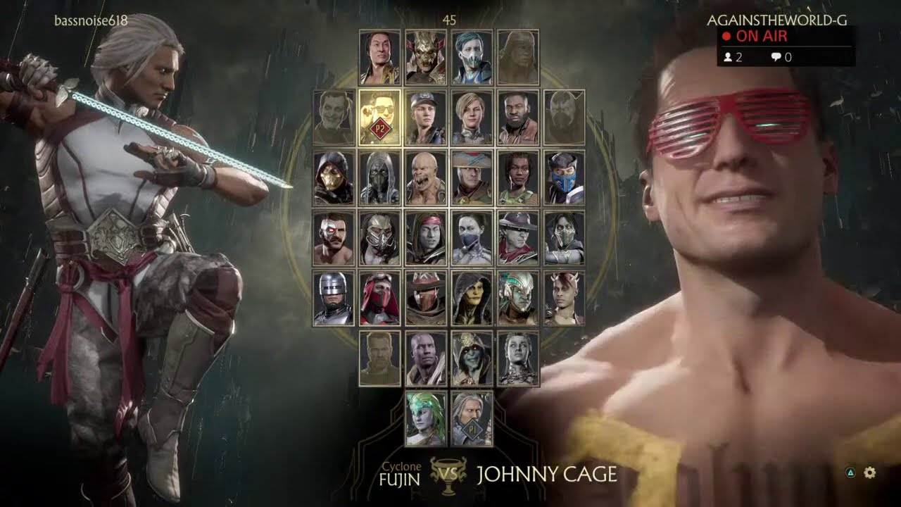 MK11: DON'T PLAY FUJIN IN KOMBAT LEAGUE AT 11PM *SCARY* *ALMOST DIED*