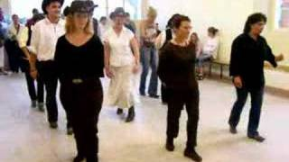 line dance country celtic slide