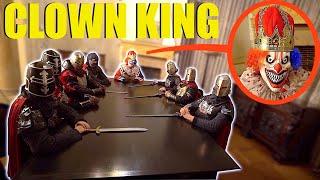 عندما ترى الملك المهرج الملكي يتناول العشاء ، لا تقاطع اجتماعهم !! (تم القبض علينا)