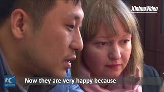 Russian woman finds love in Chinese border town