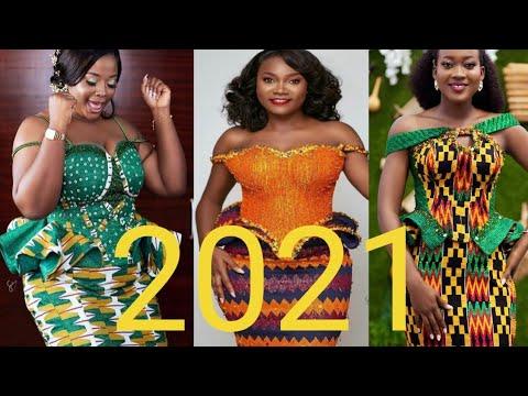 2021 Glamorous & Stylish Ghana kente Styles latest traditional kente Styles African Fashion Styles