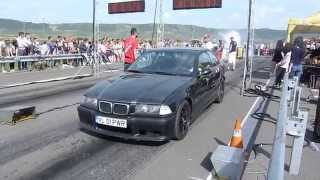 Drag Racing CAMPIA TURZII BMW E36 2.8i vs BMW E36 3.0i