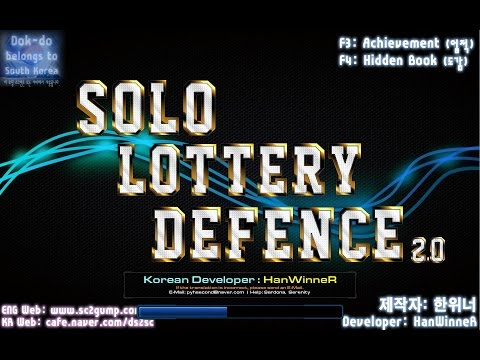StarCraft 2, Arcade, Lottery Defence; Solo Impossible1 100 Rounds.
