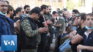 Volunteers Line Up to Fight in Armenia After Clashes with Azerbaijan