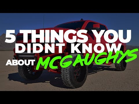 5 Things You DIDNT KNOW About Mcgaughys