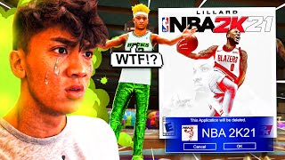 This made me delete NBA 2K21 for good...