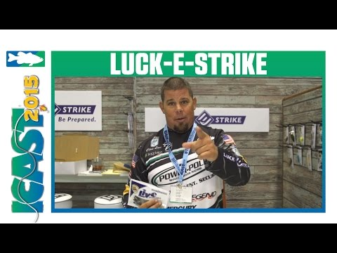 Luck-E-Strike Luck-E-Twitch With Chris Lane | ICAST 2015